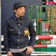 "FOB FACTORY、""F2378""、14oz SELVEDGE DENIM 2nd JK 14オンスセルビッチデニムセカンドジャケット [アウター]"