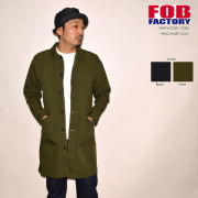 "SALE!! \18,700-⇒\11,220-!! 40%OFFセール!! FOB FACTORY、""F2395""、レンチシャツコート [アウター]"