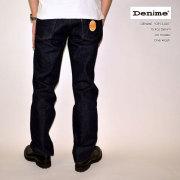 """DENIME ドゥニーム、""""DP15-001""""、15.9oz Denim XX MODEL、[ルーズストレート][ライトオンス][ヴィンテージ系色落ち]"""
