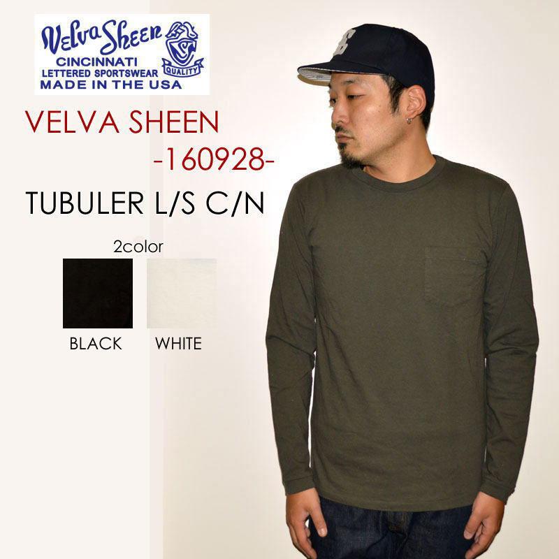 "Velva Sheen ベルバシーン、""160928""、TUBULER L/S TEE C/N ロングスリーブTee [L/STee]"