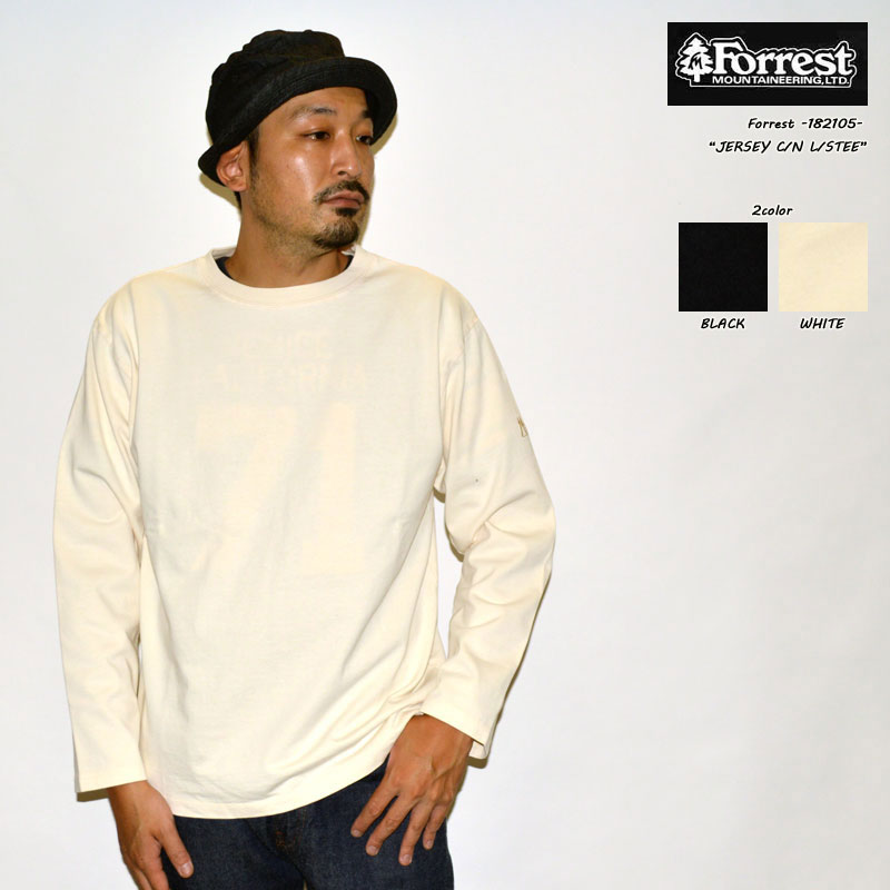 """Forrest フォレスト """"182105"""" JAESEY C/N L/S Tee ジャージークルーネックL/STee [L/STee]"""