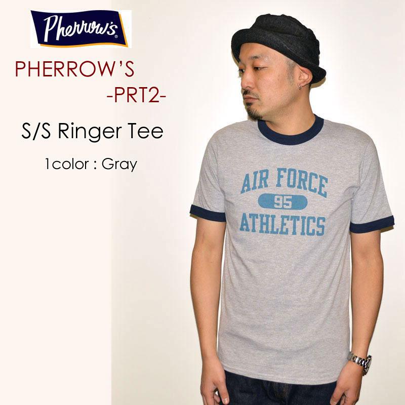 "PHERROW'S フェローズ、""PRT2""、AIR FORCE S/SリンガーTee [S/STee]"