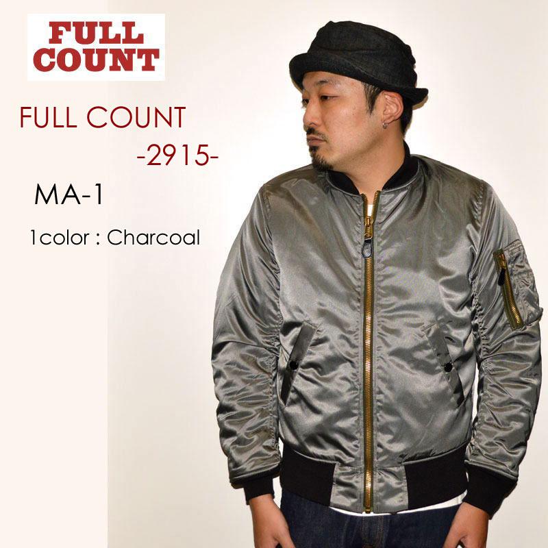 """FULLCOUNT フルカウント、""""2915""""、MA-1 [アウター]"""