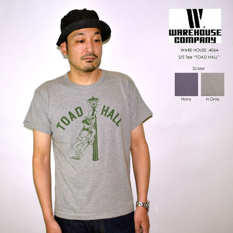 """WAREHOUSE ウエアハウス、""""4064 TOAD HALL""""、プリントS/STee [S/STee]"""