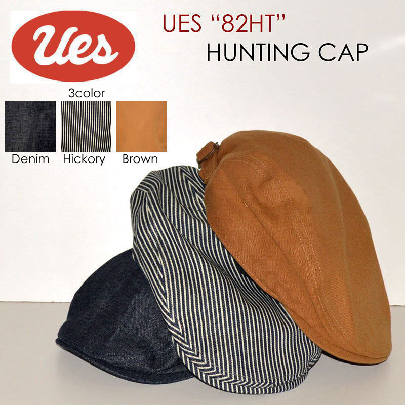 """UES ウエス、""""82HT""""、ハンチングキャップ [帽子][小物]"""