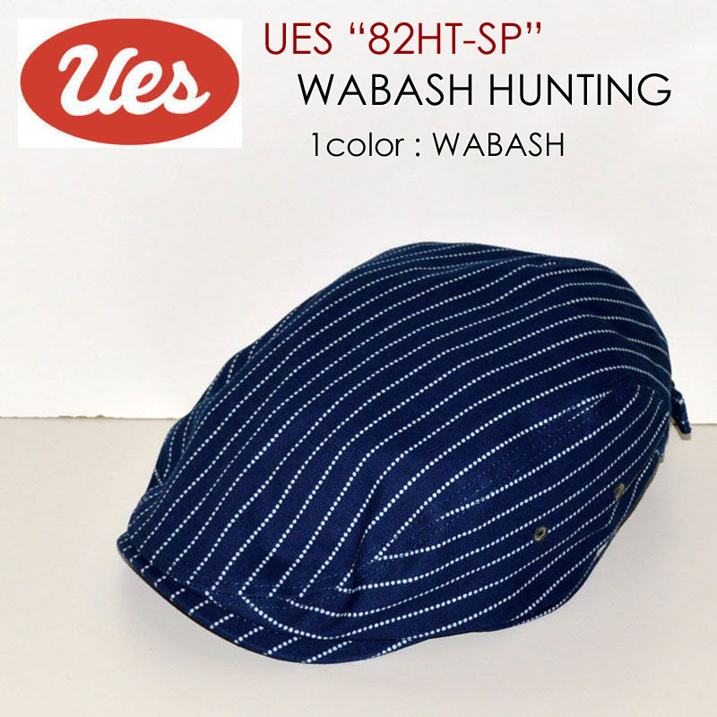 "UES ウエス、""82HT-SP""、ウォバッシュハンチングキャップ [帽子][小物]"