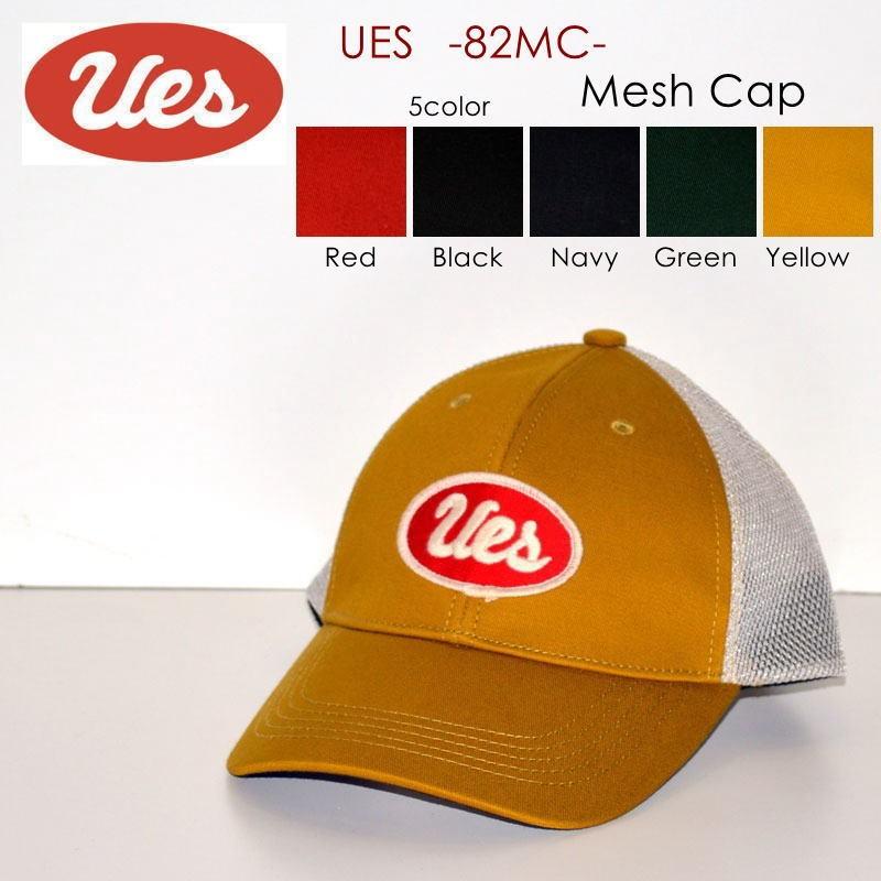 "UES ウエス、""82MC""、メッシュキャップ [小物]"