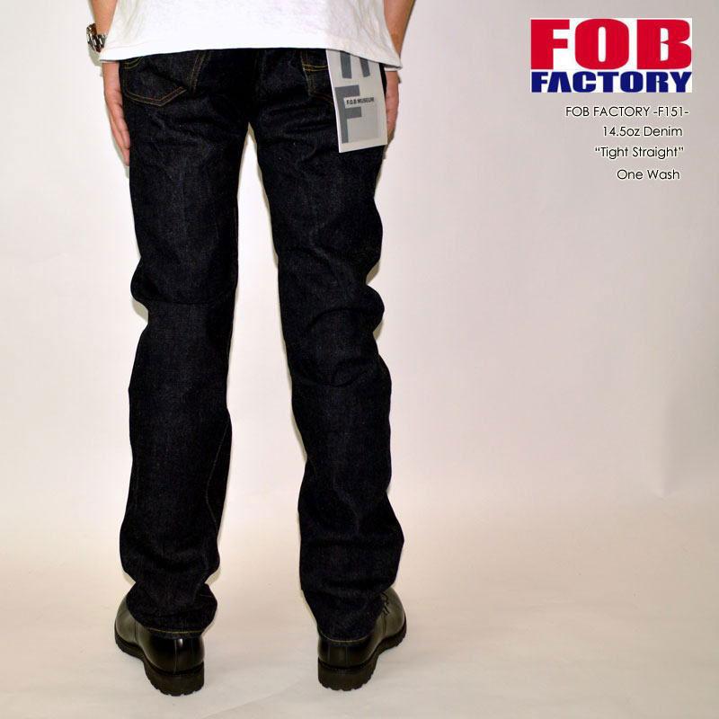 "FOB FACTORY、""F151""、XXモデル [タイトストレート][へヴィーオンス][縦落ち系色落ち]"