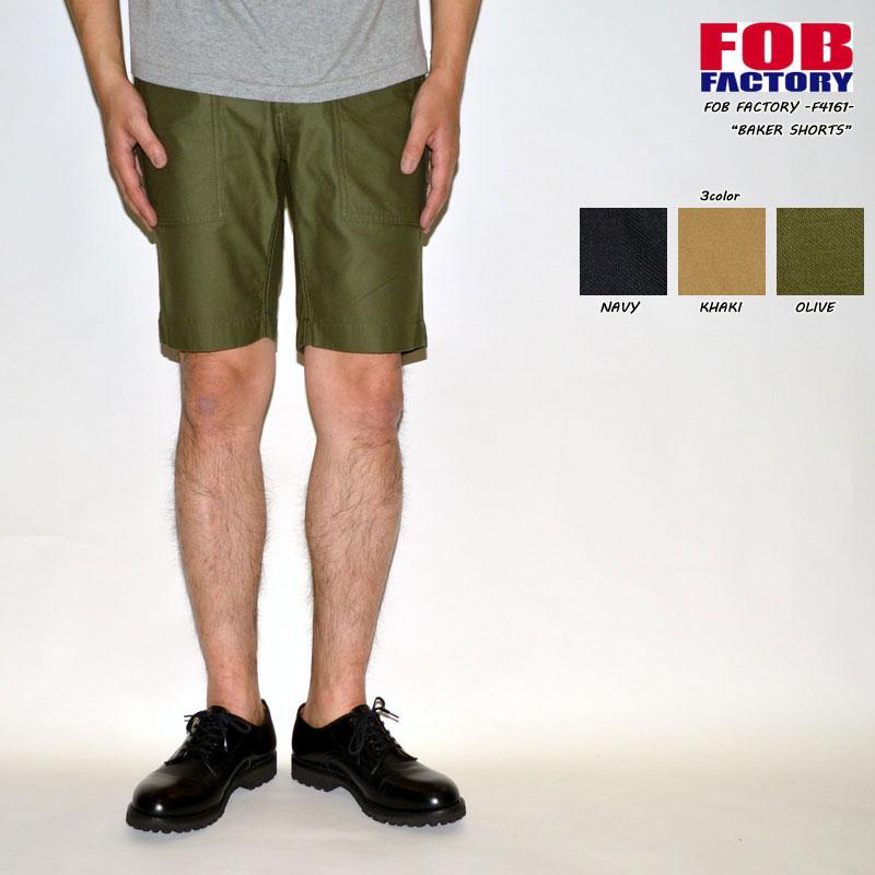 "FOB FACTORY ""F4161"" ベイカーショーツ [OTHER PANTS][ショーツ]"