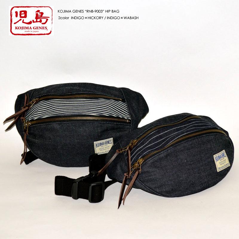 "KOJIMA GENES 児島ジーンズ ""RNB-9003"" デニムコンボ ヒップバッグ [バッグ][小物]"