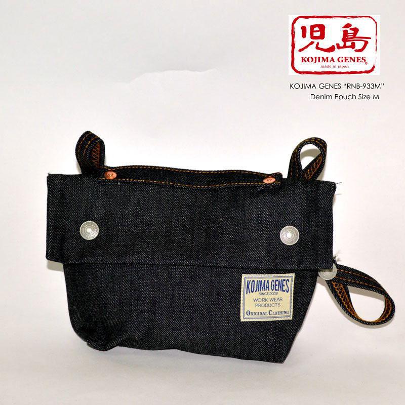 "KOJIMA GENES 児島ジーンズ ""RNB-933M"" デニムポーチ Mサイズ [バッグ][小物]"