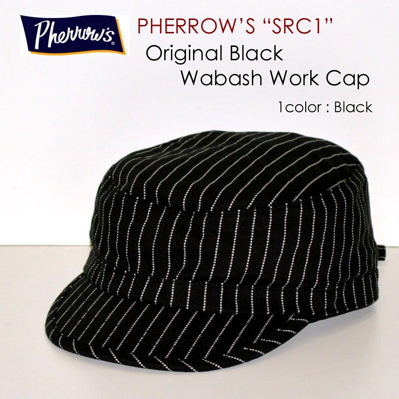 "PHERROW'S フェローズ、""SRC1""、ウォバッシュワークキャップ [小物]"