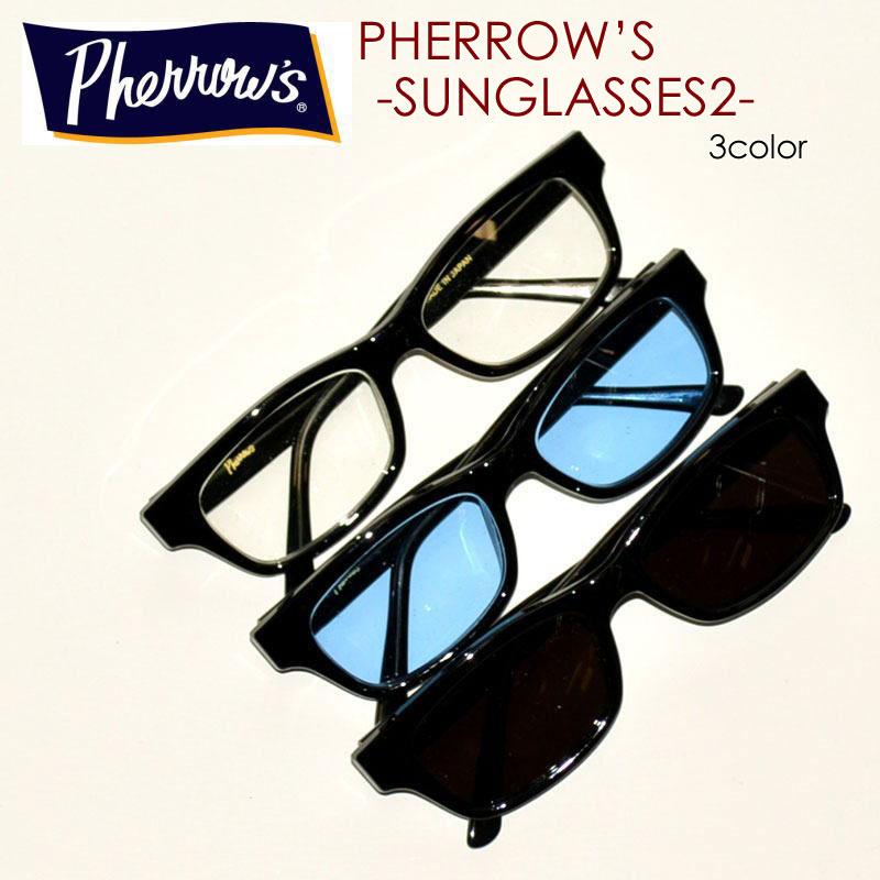 "PHERROW'S フェローズ、""SUNGLASSES-2""、ウェリントン型 サングラス [小物]"