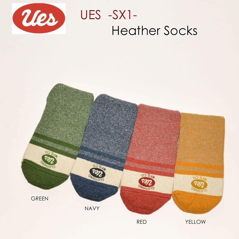 """UES ウエス、""""SX-1""""、杢ソックス [小物][靴下]"""