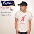 "PHERROW'S フェローズ、""PTJ1""、BASEBALL プリントTシャツ  [S/STee]"