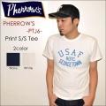 "PHERROW'S フェローズ、""PTJ6""、USAF ROTC プリントTシャツ  [S/STee]"
