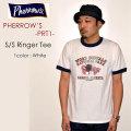 """PHERROW'S フェローズ、""""PRT1""""、S/SリンガーTee [S/STee]"""
