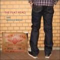 """THE FLAT HEAD(ザ・フラットヘッド)、""""3009""""、ミドルストレートモデル [へヴィーオンス][縦落ち系色落ち]"""