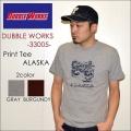 "DUBBLE WORKS ダブルワークス DUBBLEWORKS、""33005 ALASKA""、プリントS/STee [S/STee]"