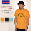 "DUBBLE WORKS ダブルワークス、""33005 GENE SEO""、プリントS/STee [S/STee]"