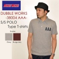 "SALE!! \6,048-⇒\4,838-!! 20%OFFセール!! DUBBLE WORKS ダブルワークス、""38004 AAA""、プリントS/SポロTee [S/STee][S/Sポロ]"