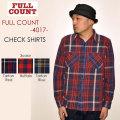 """SALE!! \20,680-⇒\10,340-!! 50%OFFセール!! FULLCOUNT フルカウント、""""4017""""、CHECK SHIRTS、チェックシャツ [L/Sシャツ]"""