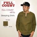"""スーパーSALE!! \14,040-⇒\8,424-!! 40%OFFセール!! FULLCOUNT フルカウント、""""4976""""、SLEEPING SHIRTS、スリーピングシャツ [L/Sシャツ]"""