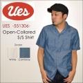 """UES ウエス、""""551306""""、半袖開襟シャツ [S/Sシャツ]"""