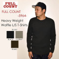"FULLCOUNT フルカウント、""5964""、HEAVY WEIGHT WAFFLE LONG SLEEVE T-SHIRTS、ヘヴィーウエイトワッフルL/STee [L/STee]"
