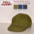 "FULLCOUNT フルカウント FULL COUNT、""6103""、A-3 キャップ [小物][帽子]"