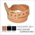 """FULLCOUNT フルカウント FULL COUNT、""""6211""""、ワイルドレザーギャリソンベルト 【ベルト】"""