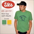 "UES ウエス、""651727""、GIFT-FRUITS Tシャツ [S/STee]"