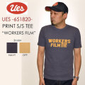"UES ウエス、""651820""、WORKERS FIRM Tシャツ [S/STee]"
