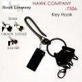 "Hawk Company ホークカンパニー、""7506""、真鍮カラビナキーホルダー [小物][キーホルダー]"
