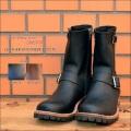 """Slow Wear Lion(スローウェアライオン)、""""OB-8595RA""""、レザーエンジニアブーツ [靴]"""
