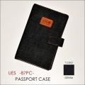 """UES ウエス、""""87PC""""、パスポートケース [小物]"""