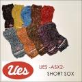 """UES(ウエス)、""""ASX-2""""、ショートソックス [小物]"""