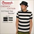"""東洋エンタープライズ、CHESWICK チェスウィック、""""CH77658""""、S/SポケットボーダーTee [S/STee]"""