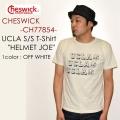 """SALE!! \6,372-⇒\4,460-!! 30%OFFセール!! 東洋エンタープライズ、CHESWICK チェスウィック、""""CH77854""""、UCLA S/STシャツ """"HELMET JOE"""" [S/STee]"""