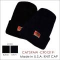 """東洋エンタープライズ、CAT'S PAW(キャッツポウ)、""""CP01219""""、ニットキャップ [小物][帽子]"""