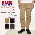 """FOB FACTORY、""""F0444""""、ナローフュージョントラウザーパンツ [OTHER PANTS]"""