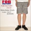 "FOB FACTORY、""F4147""、リラックス ベーカーショーツ [OTHER PANTS][ショーツ]"