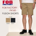 "SALE!! \11,880-⇒\8,316-!! 30%OFFセール!! FOB FACTORY、""F4160""、フュージョンショーツ [OTHER PANTS][ショーツ]"