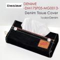 "DENIME ドゥニーム、""DM17SP05-MG0013""、デニムティッシュカバー [小物]"