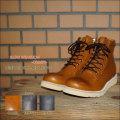 """Slow Wear Lion(スローウェアライオン)、""""OB-8593""""、オイルドレザーMIDブーツ [靴]"""