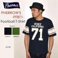 """PHERROW'S フェローズ、""""PFBT1""""、フットボールS/STee  [S/STee]"""