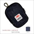 "SAMURAI JEANS(サムライジーンズ)、""SJMB15th-SP""、15周年記念ミニデニムバッグ [小物]"