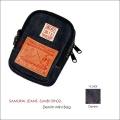 "SAMURAI JEANS(サムライジーンズ)、""SJMB15th-02""、15周年記念ミニデニムバッグ [小物]"