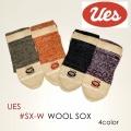 """UES ウエス、""""SX-W""""、ウールソックス [小物][靴下]"""