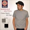 """東洋エンタープライズ、WHITESVILLE ホワイツビル、""""WV77515""""、クルーネックS/STee [S/STee][無地Tシャツ]"""